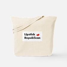 Lipstick Republican th wh Tote Bag