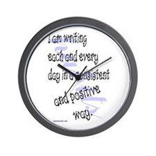 Funny Daily positive affirmation Wall Clock