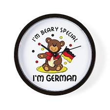 Beary Special German Wall Clock