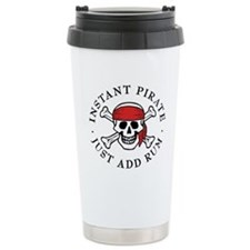Instant Pirate Travel Coffee Mug