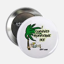 """I Survived Hurricane Ike 2.25"""" Button"""