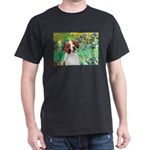 Irises/Brittany Dark T-Shirt