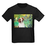 Irises/Brittany Kids Dark T-Shirt