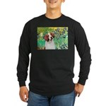 Irises/Brittany Long Sleeve Dark T-Shirt