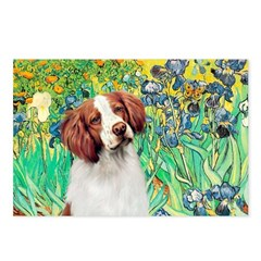 Irises/Brittany Postcards (Package of 8)