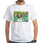 Irises/Brittany White T-Shirt