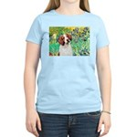 Irises/Brittany Women's Light T-Shirt
