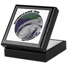 Satellite - Hurricane Ike Keepsake Box