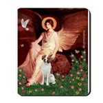 Angel/Brittany Spaniel Mousepad