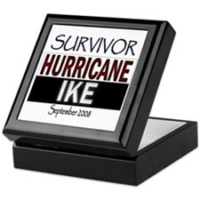 Survivor Hurricane Ike Keepsake Box