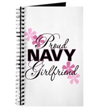 Proud Navy Girlfriend Journal