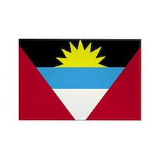 Antigua and Barbuda Flag Rectangle Magnet