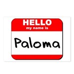 Hello my name is Paloma Postcards (Package of 8)