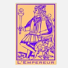 L'Empereur, Tarot Postcards (Package of 8)