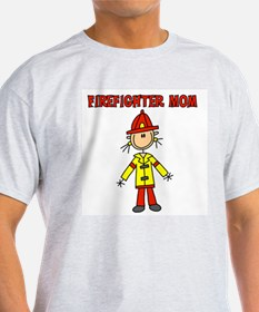 Firefighter Mom T-Shirt