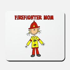 Firefighter Mom Mousepad