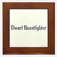 Dwarf Beastfighter Framed Tile