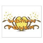 Woman Power Small Poster
