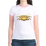 Woman Power Jr. Ringer T-Shirt
