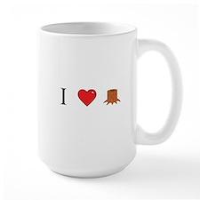 I Love Stump Mug