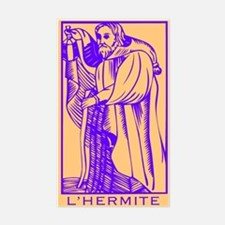 L'Hermite, Tarot Rectangle Decal