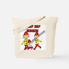 Firefighter Heroes Tote Bag