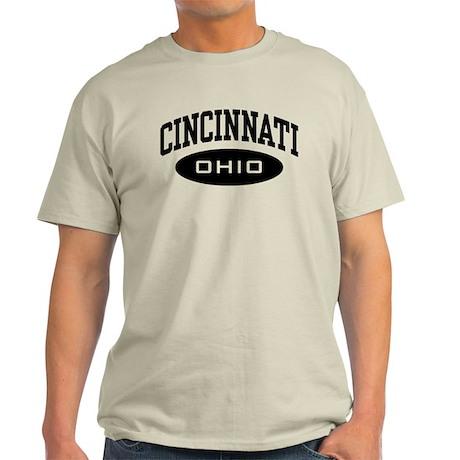 Cincinnati Ohio Light T-Shirt