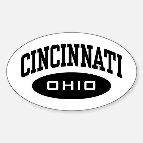 Cincinnati Ohio Oval Decal
