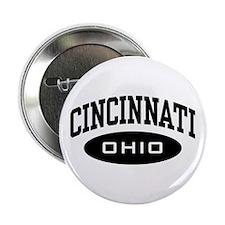 """Cincinnati Ohio 2.25"""" Button"""