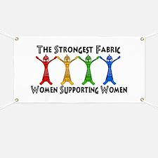 Women Supporting Women Banner