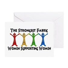 Women Supporting Women Greeting Card