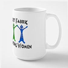 Women Supporting Women Large Mug