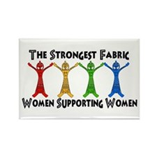 Women Supporting Women Rectangle Magnet (100 pack)