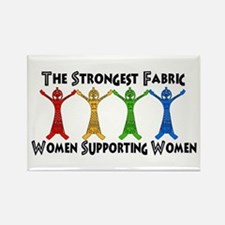 Women Supporting Women Rectangle Magnet