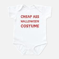 Cheap Ass Halloween Costume Infant Bodysuit