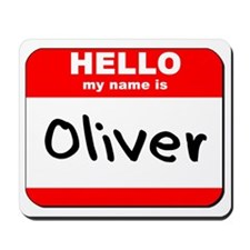 Hello my name is Oliver Mousepad