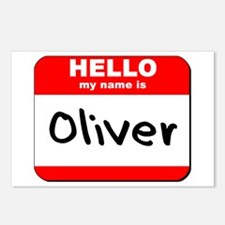Hello my name is Oliver Postcards (Package of 8)