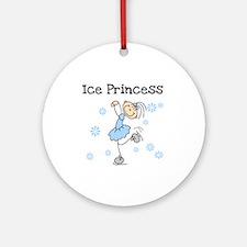 Ice Princess Ornament (Round)