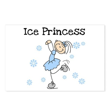 Ice Princess Postcards (Package of 8)