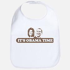 It's Obama Time Bib