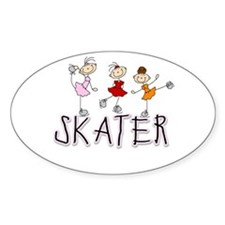 Skater Oval Decal