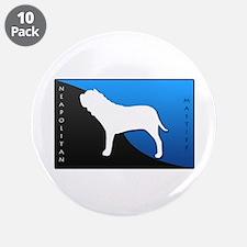 "Neapolitan Mastiff 3.5"" Button (10 pack)"