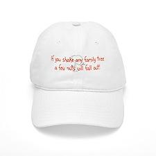 Shaking Family Tree (Red) Baseball Cap