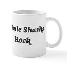 Whale Sharkss rock] Mug