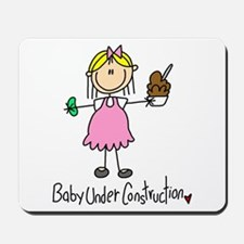 Baby Under Construction Mousepad