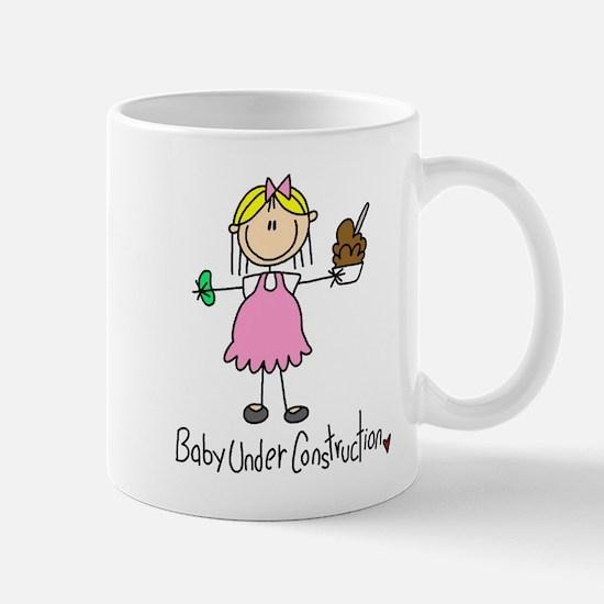 Baby Under Construction Mug