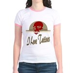 I Love Tattoos Jr. Ringer T-Shirt