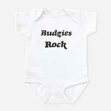 Budgiess rock Infant Bodysuit