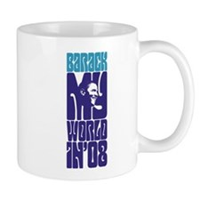 Barack My World Small Mug