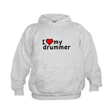 Love My Drummer Hoodie